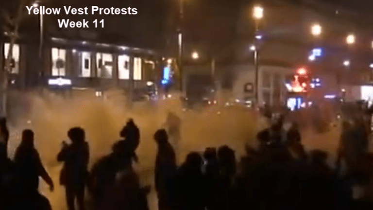 Yellow Vest Protests Week 11: Crowds Diminish, Issues Don't