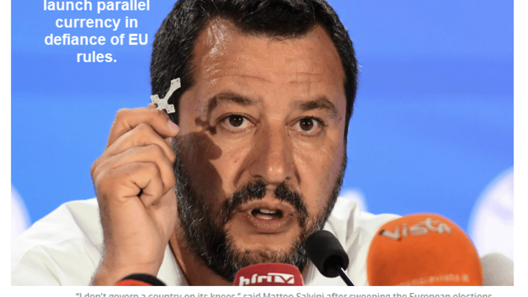 Brace for Impact: Italy Poised to Launch Euro Parallel Currency
