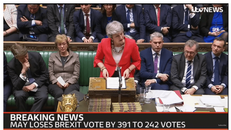 May's Deal Scorched 391-242: Assessing the No-Deal Odds