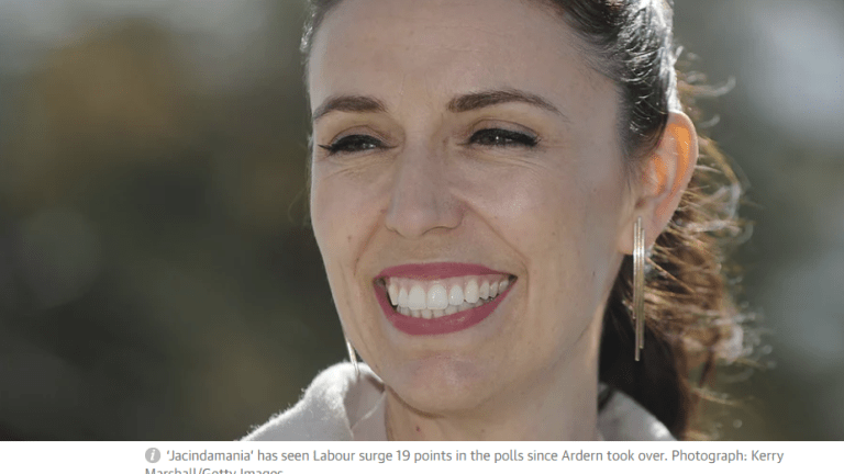 """""""Jacindamania"""": Labor Takes Over New Zealand, New Gov't Blasts Capitalism, Promises to End Poverty"""
