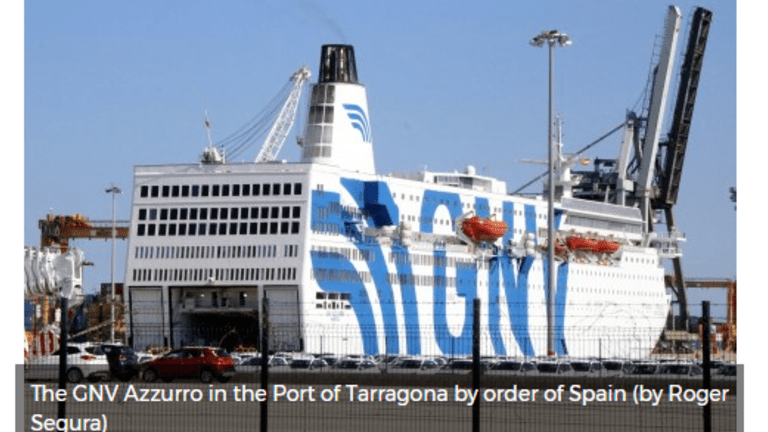 Watershed Moment – Spain to Send in Troops on Cruise Liners:Catalonia President Says Vote Will Go On
