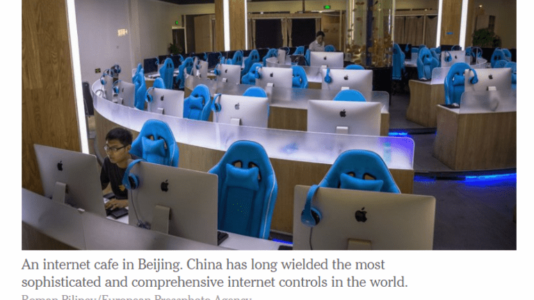 """Apple, Microsoft Bow to Increasing China Censorship: """"It's Temporary"""""""