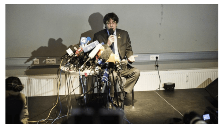 Former Catalan Leader Charles Puigdemont Released on Bail in Germany