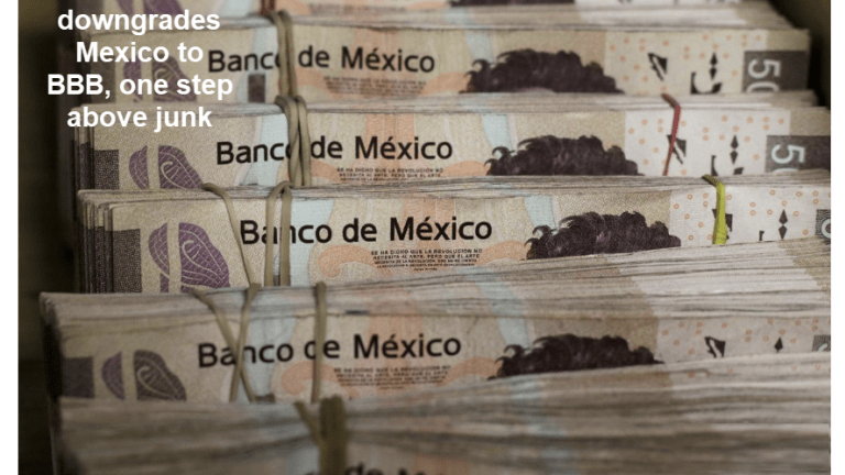 Fitch Downgrades Mexico to One Step Above Junk, Plus Trump Lies of the Day