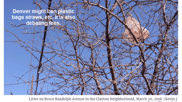 Denver Might Ban Plastic Bags, Straws, Utensils: Bring Your Own Bag Coming Up?