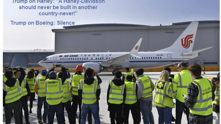 Smack in Midst of Trade War, Boeing to Open Its First 737 Plant in China
