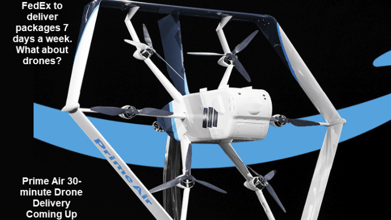 30-Minute Drone Deliveries Coming Up: FedEx Scrambles to Catch Amazon