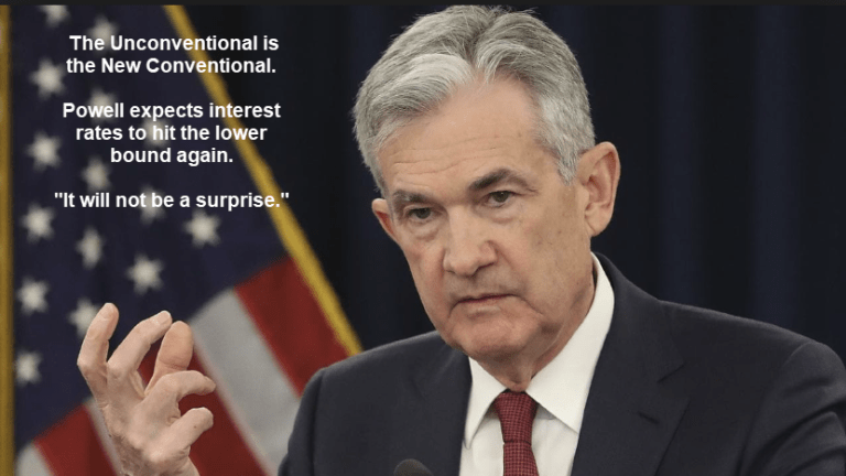 """Powell Ready to Cut Rates to """"Effective Lower Bound"""" via """"Conventional"""" Policy"""