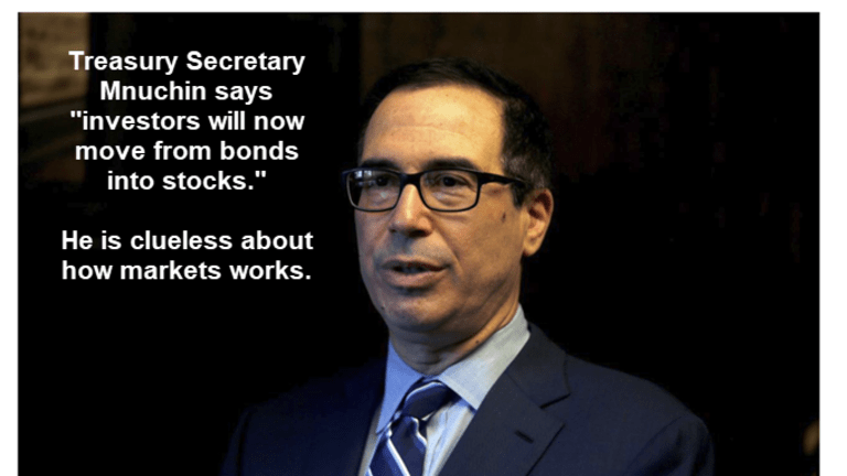 Treasury Secretary Mnuchin is Totally Clueless About How Markets Function