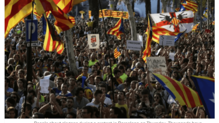 """Catalonia President: """"We Will Vote on Independence Whether Spain Likes it or Not"""""""