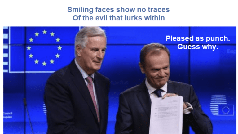 Brexit Musical Tribute: Smiling Faces Show No Traces of Evil That Lurks Within