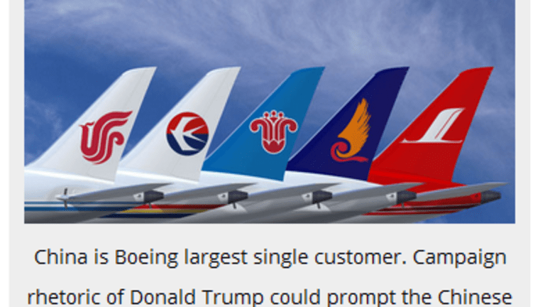Global Trade War Baked in the Cake: Boeing Faces China's Wrath