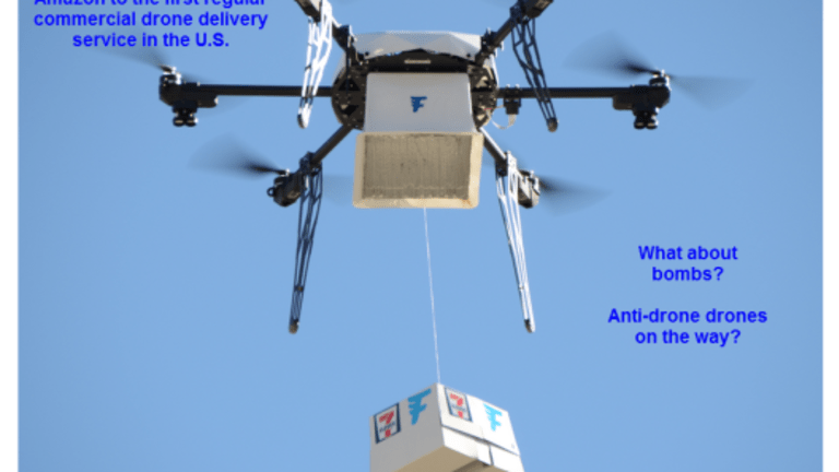 Drone Delivery Wars: Delivery by Drone in US, 7-Eleven Leap-Frogs Amazon