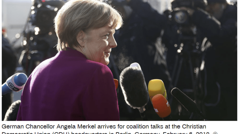 Merkel and SPD Agree to Grand Coalition: Ratification a Tossup at Best