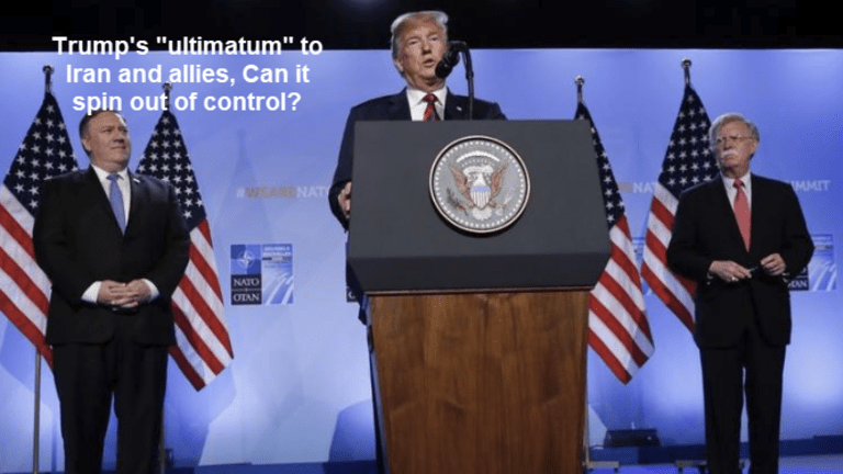 """Trump On Path for War With Iran in the """"National Interest"""""""