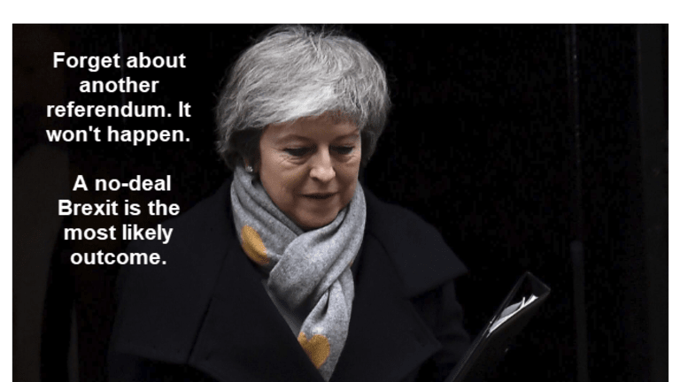 No-Deal Brexit Odds Greater Than You May Think