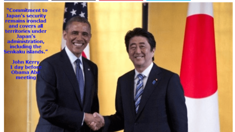 Japan's Abe Angling for War with China? Could the US be Drawn In?