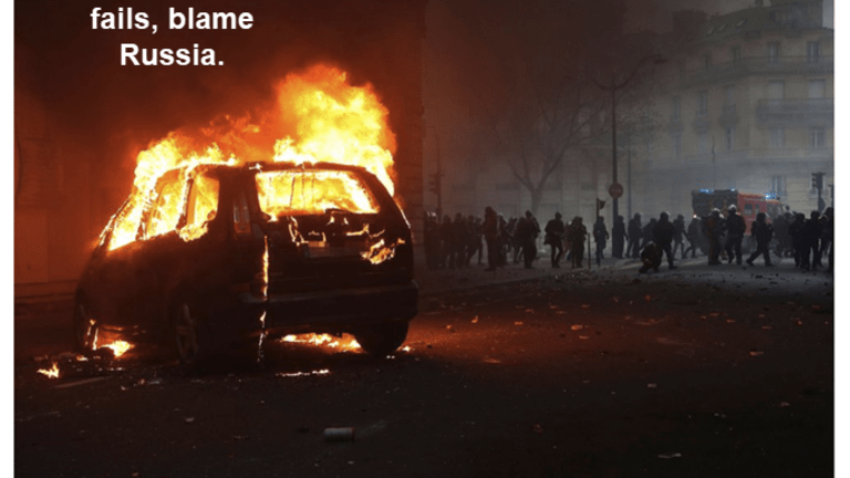 Eventually This Had to Happen: France Investigates Russia Over Yellow Vest Riots