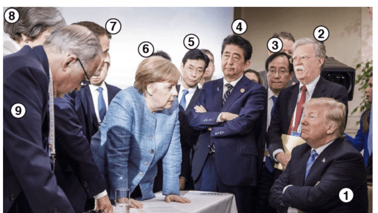 """Trump at G7 """"We're Like the Piggy Bank that Everybody is Robbing"""""""