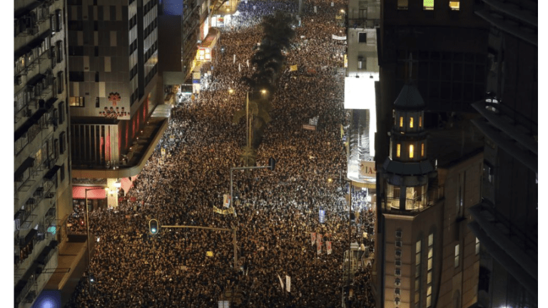 Two Million Protesters Flood Streets of Hong Kong: What's It All About?