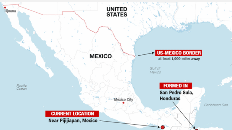 Trump to Send More Troops to the Mexican Border to Stop Migrant Caravans