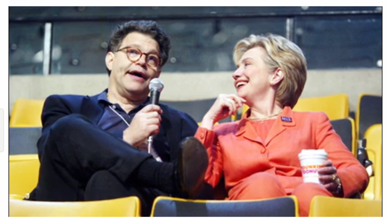 """Franken Resigns from Senate will """"Continue to be a Champion for Women"""""""