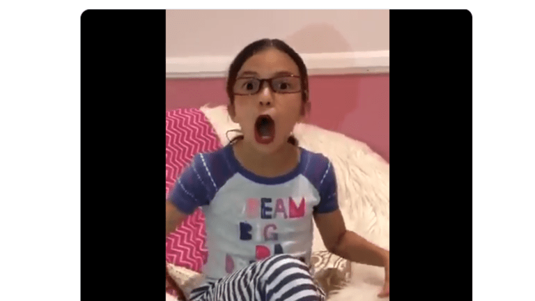 Hilarious Video of 8-Year-Old Imitating and Mocking AOC
