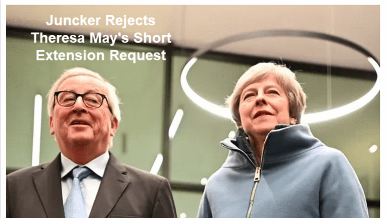 Juncker Rejects Theresa May's Short Extension Request, Indicative Votes Over