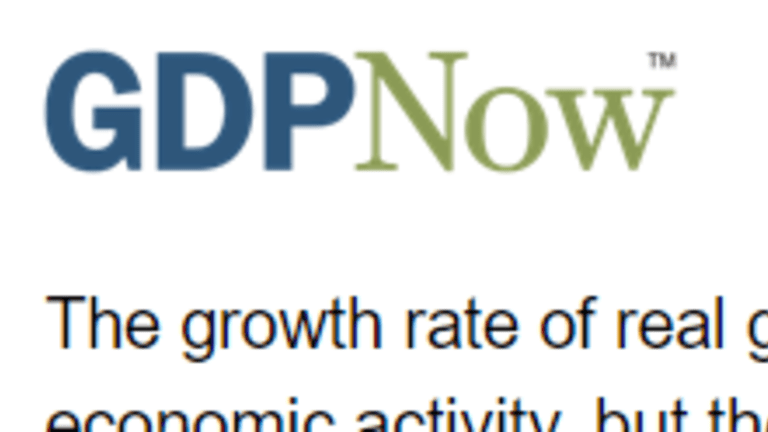 GDPNow Dives Following Jobs, ISM Report: Little Reaction in Nowcast