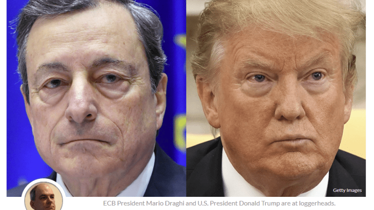 Currency Wars: ECB Hints at Rate Cuts, Trump Slams Draghi in Tweetstorm