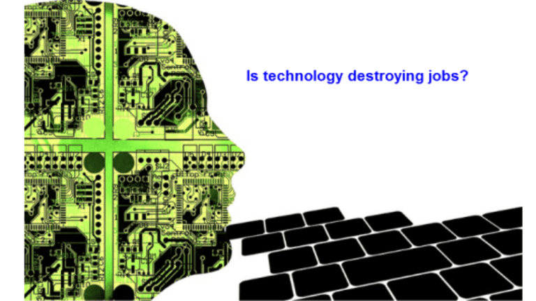 Does Technology Destroy Jobs? If Not What Does?
