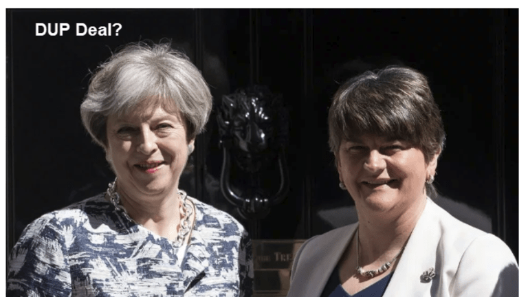 Reported DUP Deal with Theresa May Based on BIG IF