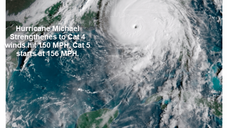 """Michael Near Cat 5: """"Florida Coastline Will Be Changed for Decades"""""""