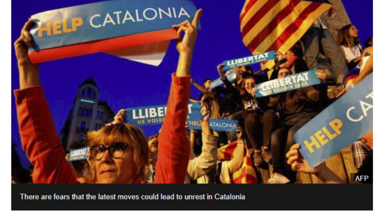 Uncharted Territory, Spain to Take Over Catalonia Government: What's the Libertarian Position?
