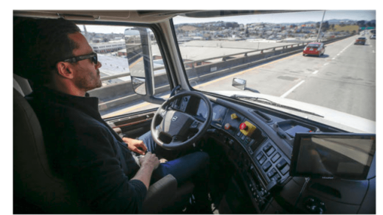 """""""Otto"""" Self-Driving Truck Test on Ohio Roads this Week"""