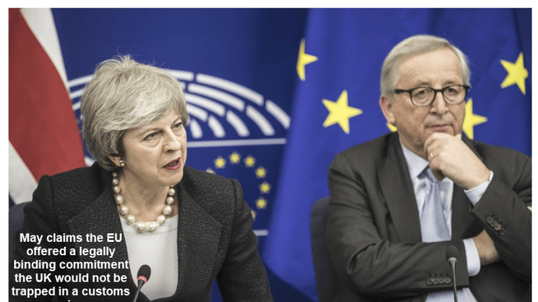 May Secures Last Minute Concessions, Juncker Says No 3rd Chances, Pound Rallies