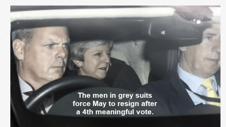 May to Set Departure Date After 4th Meaningful Vote: BJ Announces Leadership Bid