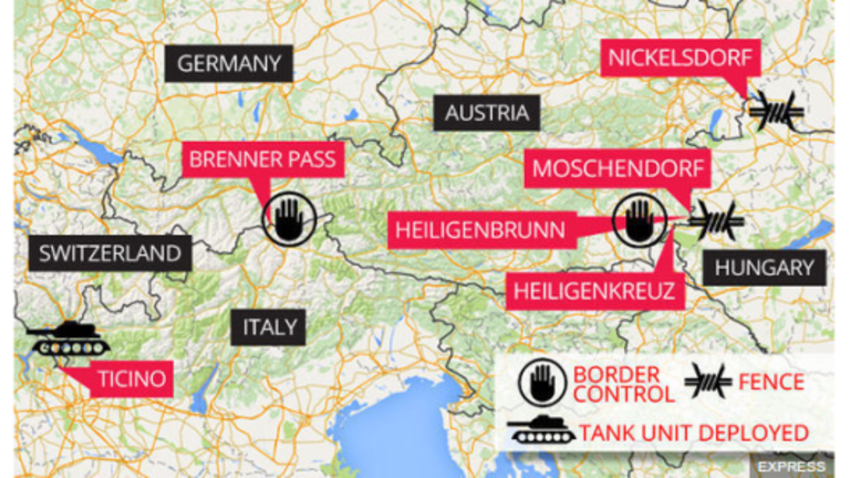 EU Orders Austria, Germany, Denmark, Sweden, Norway to Stop Border Controls: Or What?