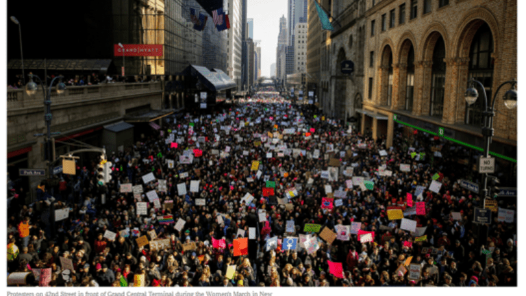 Women's March Wrapup: LA, Chicago, DC, NY, Antarctica; How Feminists Miss the Boat