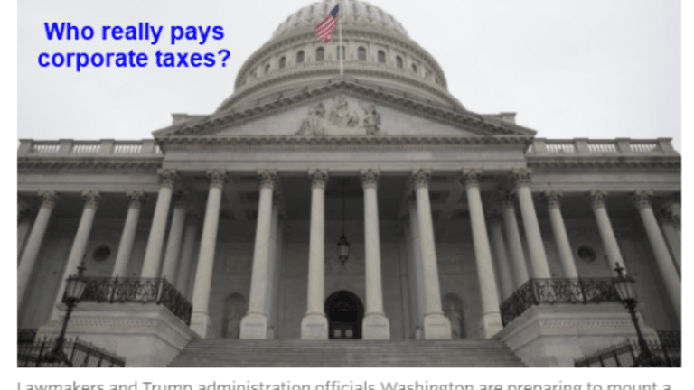 Case for Zero Corporate Taxes: Who Really Pays Them?