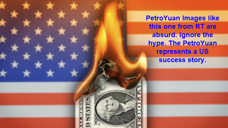 PetroYuan is a Huge US Success Story, Not a Chinese One