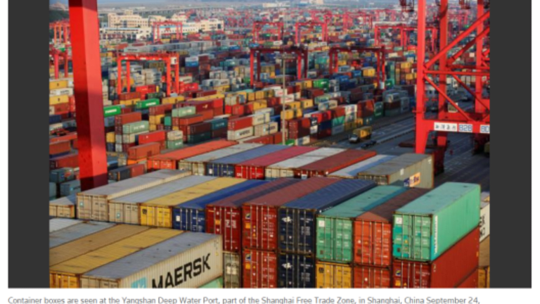 """WTO Slashes Global Trade Growth Forecast by 39% Since April: """"Wake-Up Call"""" Says WTO Director"""