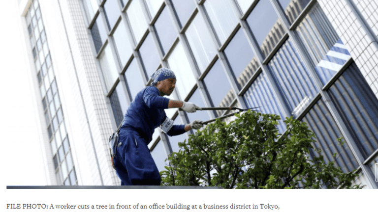 Over Half of Japanese Firms Plan Zero % Wage Hikes