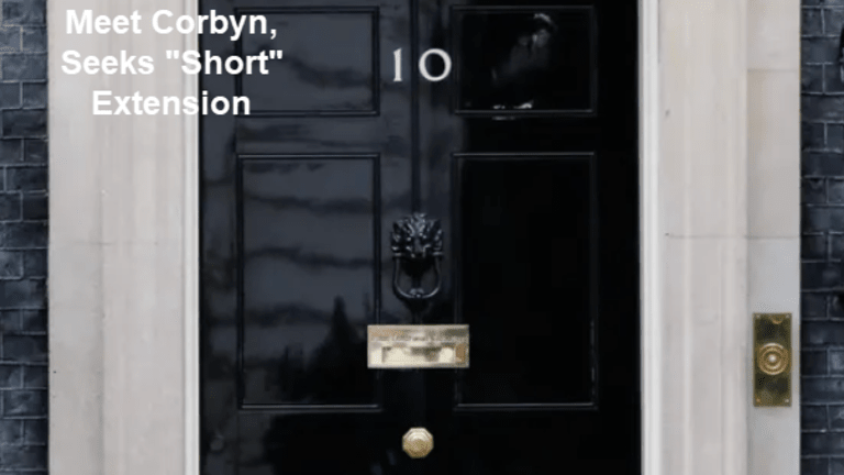 May Offers to Sit Down With Corbyn, Seeks Short Extension