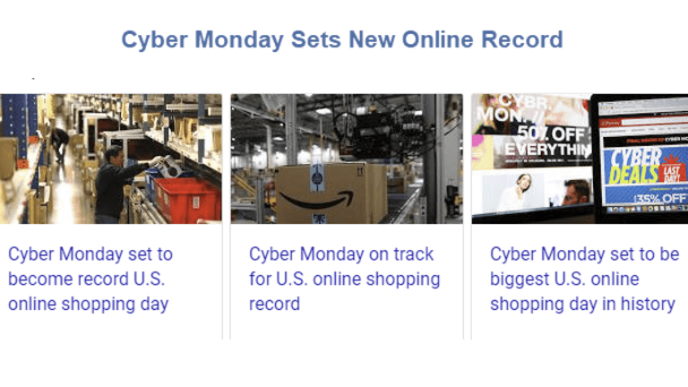 Cyber Monday Optimism: Amazon will Get Half of Retail Earnings Growth