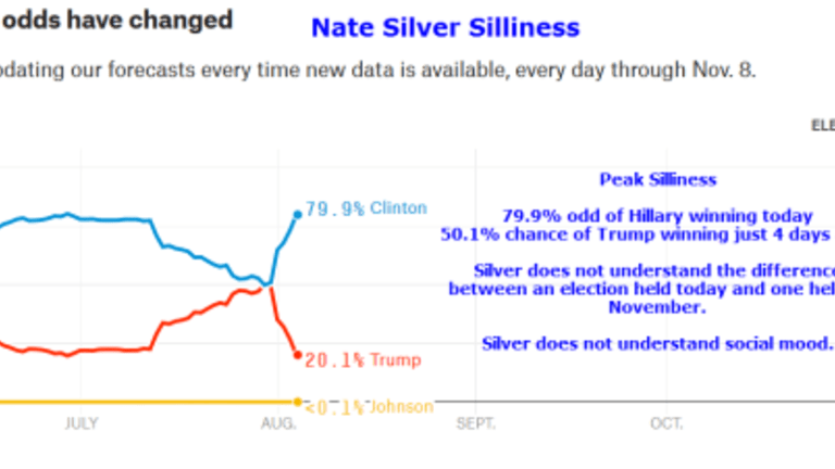 Nassim Taleb Blasts Nate Silver About Election Odds in Series of Tweets