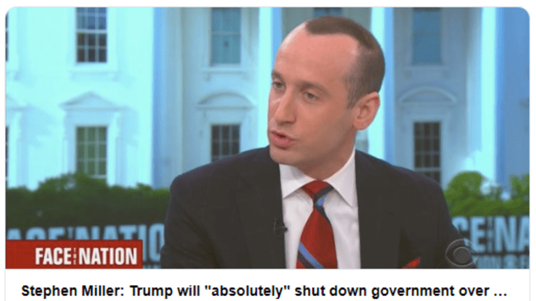 """Trump will """"Absolutely"""" Shut Down the Government: OK, So What Will Close?"""