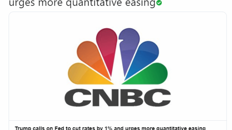 Trump Seeks Cuts and QE; Stocks, Bonds, Gold Reverse on Fed Press Conference.