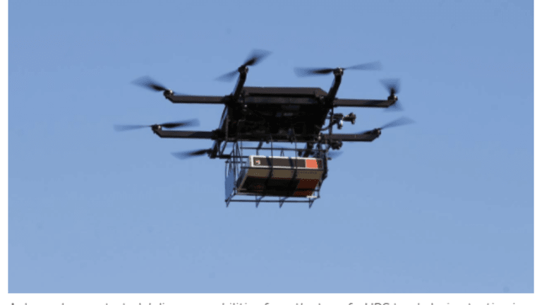 Amazon, UPS Drone Delivery Coming Within Months