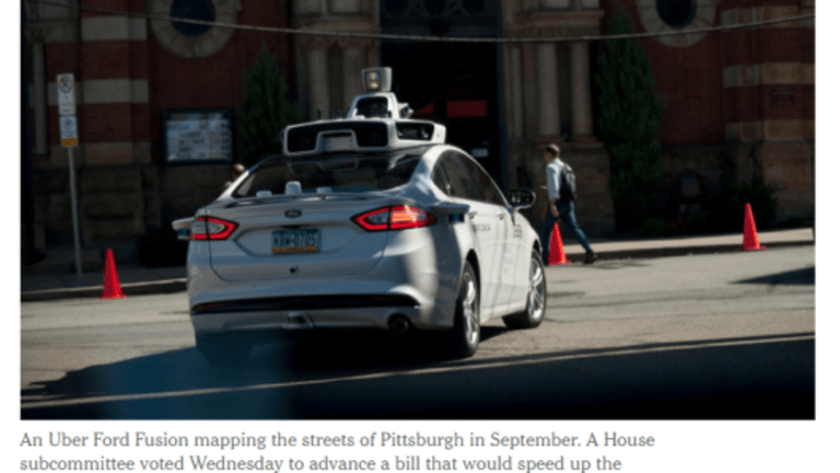 Congress Plays Catch-Up With Self-Driving Cars: Millions of Jobs Will Vanish, What Jobs New Jobs Wil